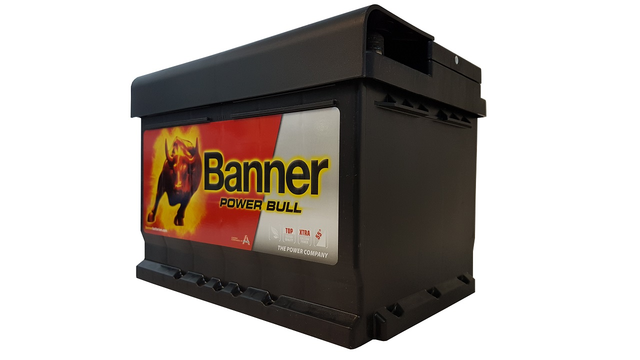 AKUMULATOR BANNER POWER BULL 12V 60AH 540A