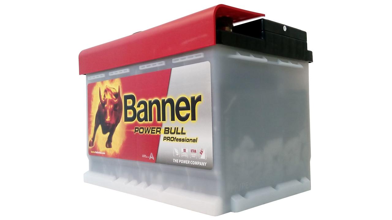 akumulator banner power bull professional 12v 77ah 680a. Black Bedroom Furniture Sets. Home Design Ideas